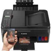 Multifunctional Canon PIXMA G4400 Inkjet, A4, 8,8 ppm, Fax, Retea, Wireless, ADF, CIS (Negru) + Cartus cerneala Canon GI-490 BK, acoperire aprox. 6000 pagini (Negru) + Cartus cerneala Canon GI-490 C, acoperire aprox. 7000 pagini (Cyan) + Cartus cerneala C