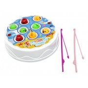 Fun Time Fishing Game Set From Little Treasures That Includes 8 Fish and 2 Fishing Rods