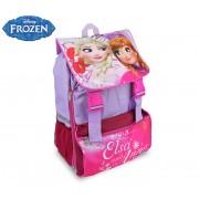 FR16101 Zaino a spalla estensibile scuola Disney Frozen 41x28,5x20 cm