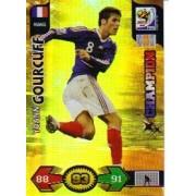 World Cup 2010 XL Adrenalyn CHAMPIONS Card Yoann Gourcuff [Toy]