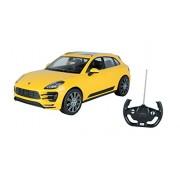 Toyhouse Officially Licensed Rastar Porsche Macan 1:14 Scale Model Car, Yellow
