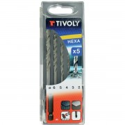 COFFRET5 FORETS METAUX HEX TIVOLY 2 A 6 mm