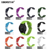 XBERSTAR Strap Watchband for Garmin Fenix 5 Fenix5 Multisport GPS Watch 22mm Sports Silicone Quick Release Wrist Band With Tools