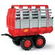 Rolly Toys prikolica Hay Wagon crvena 122820