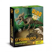 GEOWORLD-DINO EXCAVATION KIT - STYGIMOLOCH SKELETON