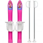 Skiuri copii Marmat 60 cm Roz