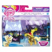 My Little Pony Friendship is Magic Sweet Cart With Applejack B7808