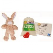 Make Your Own Stuffed Animal Mini 8 Inch Floppy Ear Bunny Kit - No Sewing Required!
