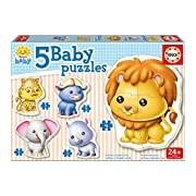 "Educa Borras 14197 ""Baby Wild Animals"" Puzzle"