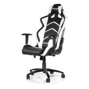 AKRacing Player Gaming Chair Black White Ергономичен геймърски стол
