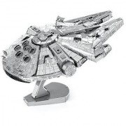 Metal Earth ICONX Star Wars Millennium Falcon Premium Series 3D Metal Model Kit