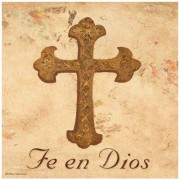 Thirstystone Fe en Dios Cross Occasions Trivet FT-NU1