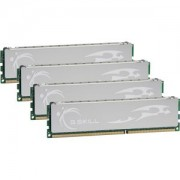 Memorie G.Skill ECO 8GB (4x2GB) DDR3, 1333MHz, PC3-10600, CL9, Dual Channel, Quad Kit, F3-10666CL9Q-8GBECO