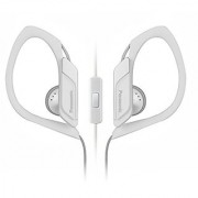 Panasonic Sports Clip Earbud Headphones with Mic/Controller RP-HS34M-W (White)