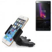 Porte-Voiture De Smartphone Pour Lenovo Phab 2 Plus, Noire Fente Cd Holder, Support Radio De Voiture