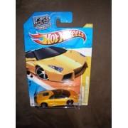 2011 HOT WHEELS NEW MODELS 23/240 YELLOW / GOLD / ORANGE LAMBORGHINI REVENTON ROADSTER 23/44