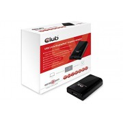 CLUB3D SenseVision USB3.0 to Displayport 1600p Graphics Adapter