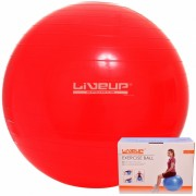 Bola Suíça Para Pilates 45Cm Live Up + Grátis Bomba Inflar