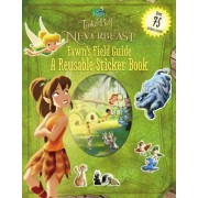 Disney Fairies: Tinker Bell and the Legend of the Neverbeast: Fawn's Field Guide: A Reusable Sticker Book by Celeste Sisler
