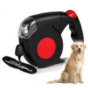 Retractable Dog Leash w/ LED Torch