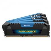 Memorie Corsair Vengeance Pro Blue 32GB (4x8GB) DDR3, 1600MHz, CL9, Quad Channel Kit, CMY32GX3M4A1600C9B