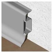 PBC505 - Plinta PROLUX din PVC culoare gri inchis pentru parchet 50 mm
