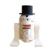 LEGO Star Wars: R2-D2 Navidad Muñeco De Nieve Minifigura Con Sombrero De Copa