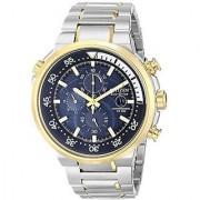 Citizen Silver Stainless Steel Round Dial Quartz Watch For Men (CA0444-50L)