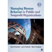 Managing Human Behavior in Public and Nonprofit Organizations by Maria P. Aristigueta