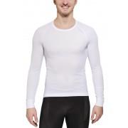 Odlo Cubic Shirt L/S Crew Neck Men white XXL 2016 Langarm Shirts