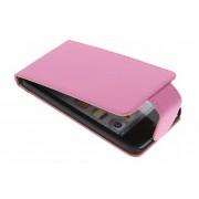 Roze classic flipcase voor de iPod Touch 5g / 6