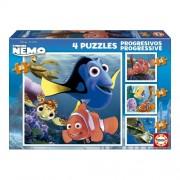 Educa Disney Nemo puzzle, 4 az 1-ben
