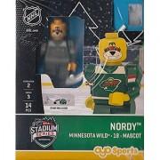 NHL Minnesota Wild Nordy Mascot 2016 Stadium Series Special Edition OYO Minifigure