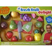 HollyKids Fresh Fruit Delight 13 Piece Play Food Set