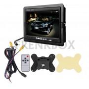 """Monitor 7"""" LCD per videosorveglianza retromarcia auto camper poggiatesta"""
