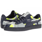 PUMA Basket Classic Graphic PeacoatSafety YellowQuarry