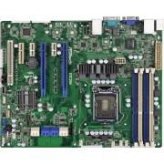 ASRock Carte mère pour poste de travail/serveur d'applications Socket 1155 Intel C204 DDR3 S-ATA 600 ATX Solution UP pour serveur d'applications