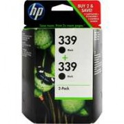 HP 339 Inkjet Cartridge Black Pk 2 C9504EE