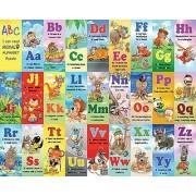 White Mountain Puzzles Animal Alphabet Jigsaw Puzzle (24 Piece)