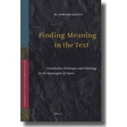 Finding Meaning in the Text by W. Edward Glenny