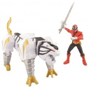 Power Rangers Zord Vehicle with Figure, TigerZord and Red Ranger