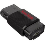 Sandisk SDDD-032G-G46 32Gb Micro Usb Otg Flash Drive - Black