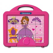 Clementoni 41342 - Sofia The First Baby Cubes - Valigetta 12 Cubi