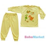 Yo Pamut Pizsama Cute 116 sárga