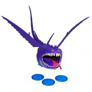 Dreamworks Dragons Defenders of Berk - Action Dragon Figure - Thunderdrum Purple