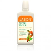 Apa de gura nutri smile (portocale, scortisoara si menta) pentru prevenirea tartrului si cariilor