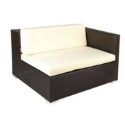 Sun Sofa Ingleses Modular Esquerdo Cor Cacau 11304 Sun House