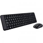 Kit tastatura + mouse, wireless, LOGITECH MK220