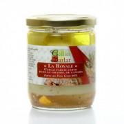 Caille confite farce royale au foie gras, 350g