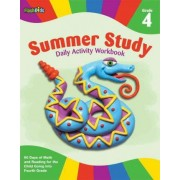 Summer study daily activity workbook: Grade 4 by Flash Kids Editors